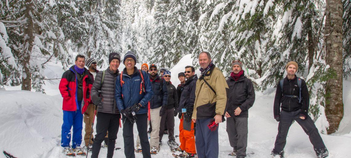 Snowshoeing Social 2018